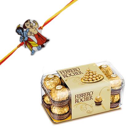 Ferrero Rocher and Kids Rakhi