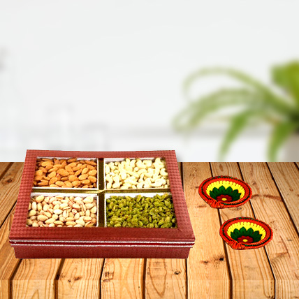 Dry Fruit Diwali Box Combo