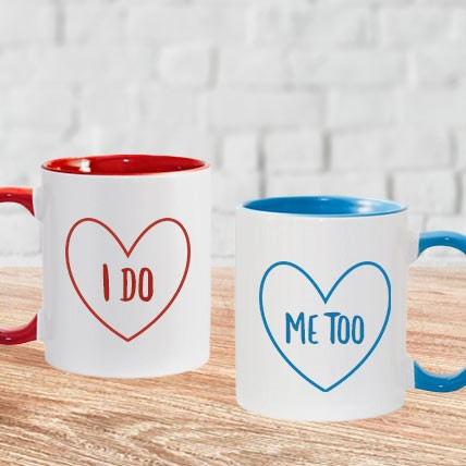 I do Me too Couple Mug