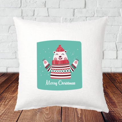 Beer Christmas Cushion