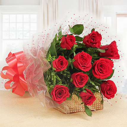 Valentine Roses Love Bouquet