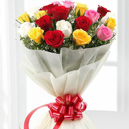 Premium Mix Roses Bouquet