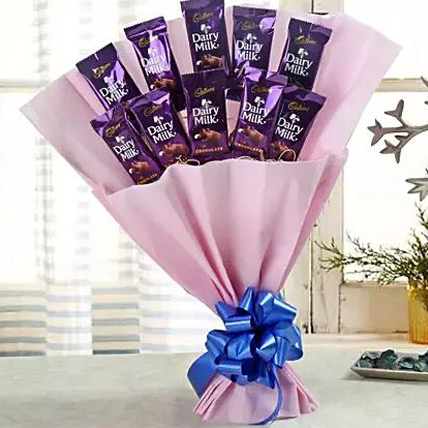 Valentine Diary Milk Chocolate Bouquet