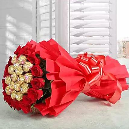 Valentine Premium Rocher Bouquet