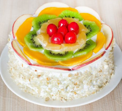 Fresh Fruit Cake (Mini)