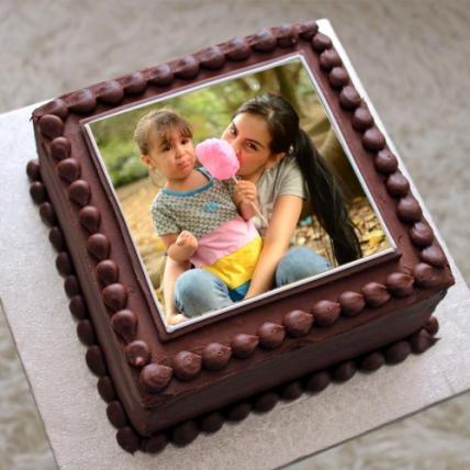 Valentine Photo Cake