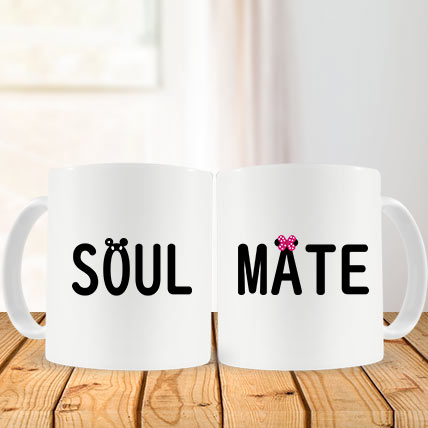 Valentine Soul Mate Couple Mug