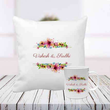 You + Me Cushion and Mug