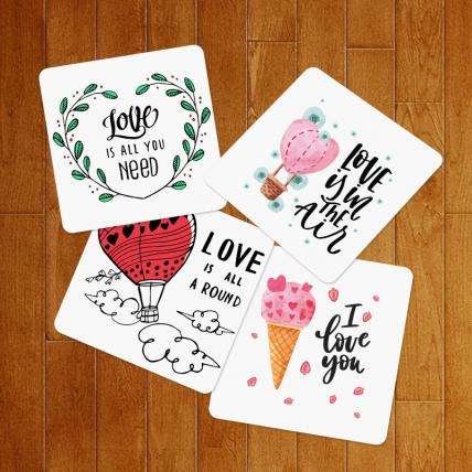 Valentine Love Coasters