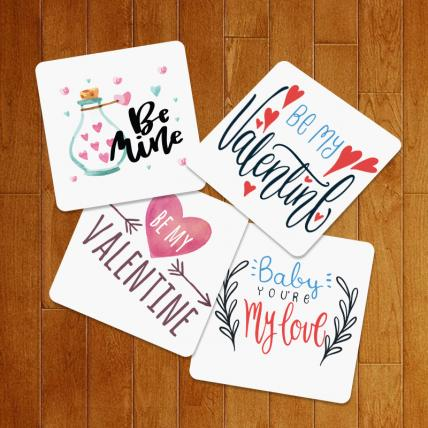Valentine Exclusive Love Coasters