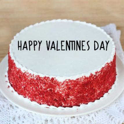 Valentine Delicious Red Velvet Cake