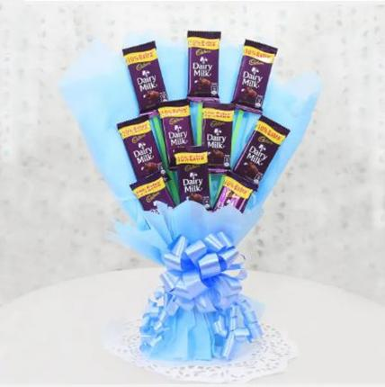 Adorable Diary Milk Chocolate Bouquet