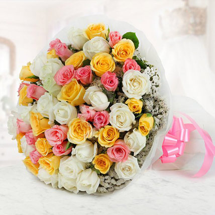 Beauty of Roses Bouquet Large