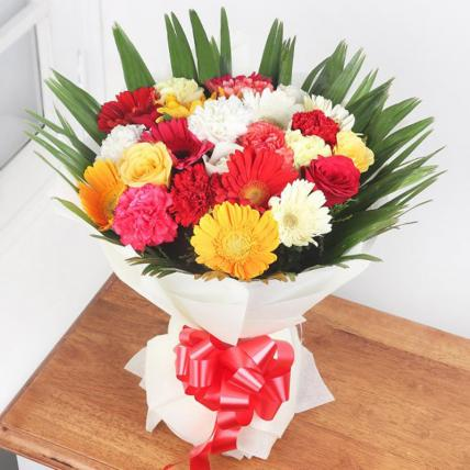 Lovely Mixed Flowers Bouquet