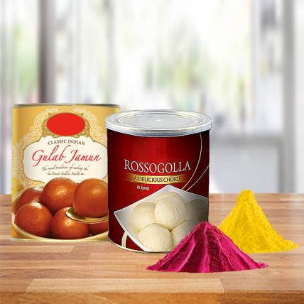 Special Holi Sweets Combo with Free Gulal