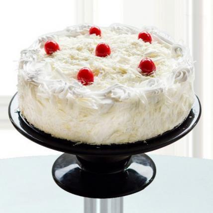 Premium White Forest Cake