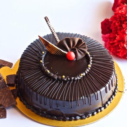 Premium Chocolate Truffle Cream cake