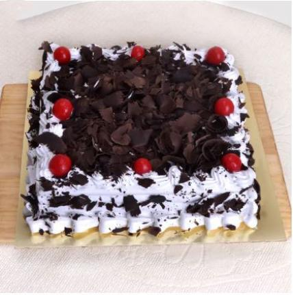 Square Blackforest Cream Cake
