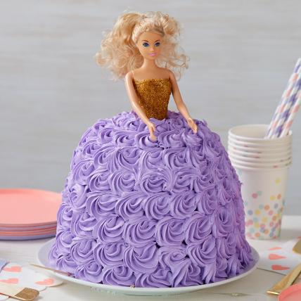 Barbie Roses Dress Cake - Limited Edition