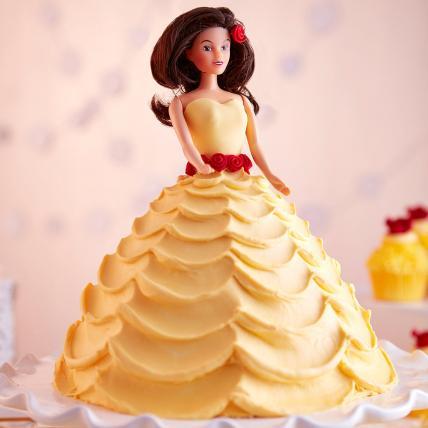 Lovely Barbie Cake