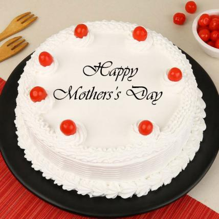 Mother's Day Vanilla Cake