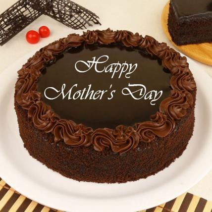 Mothers Day Chocolate Truffle Cream Cake
