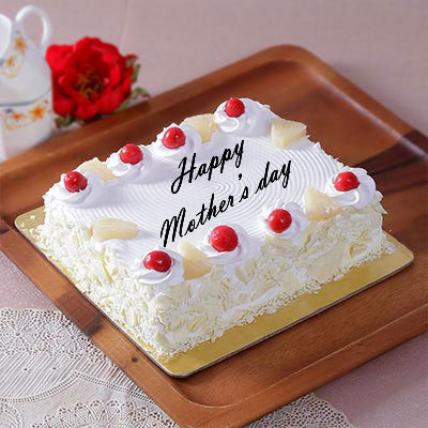 Mothers Day Square Pineapple Cake