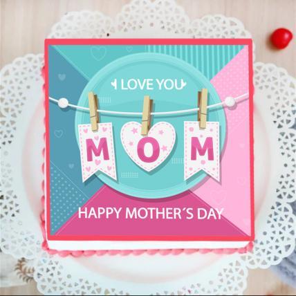 MOM - Photo Cake