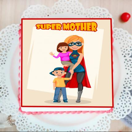 Super Mommy Cake