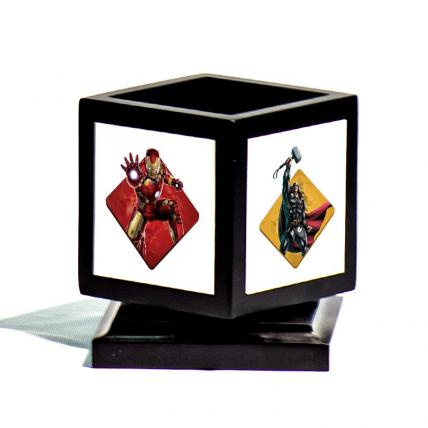 Personalised Rotating Avengers Pen Holder
