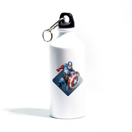 Captain America Metallic  Sipper
