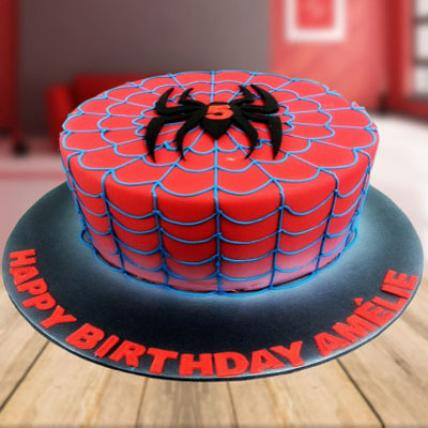 Superhero Spider Man Cake