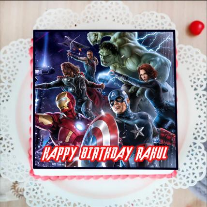 Avengers Endgame  Photo Cake