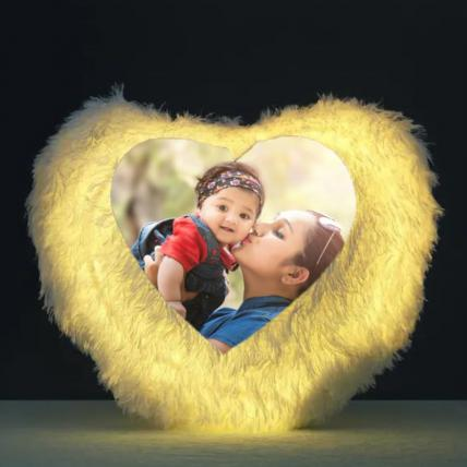 Heart Shape LED Cushion