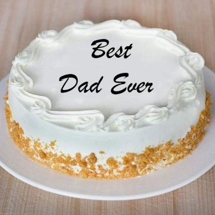 Fathers Day Butterscotch Cake