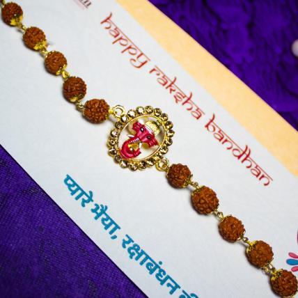 Ganesha Rudraksh Rakhi