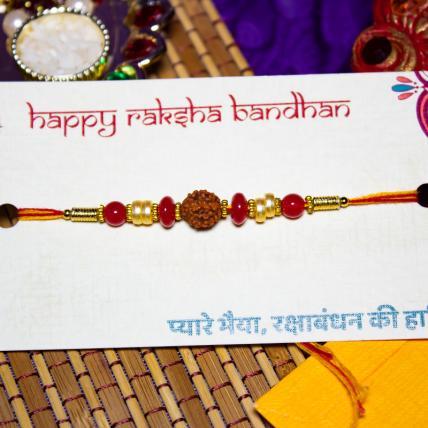 Rudraksh Pearl Rakhi