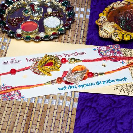 Beautiful Rakhi Set