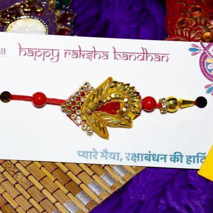 Designer Zardosi Rakhi