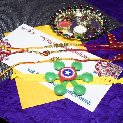 Fun Rakhi Combo of 4