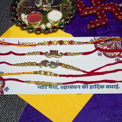 Cool Rakhi Combo of 5