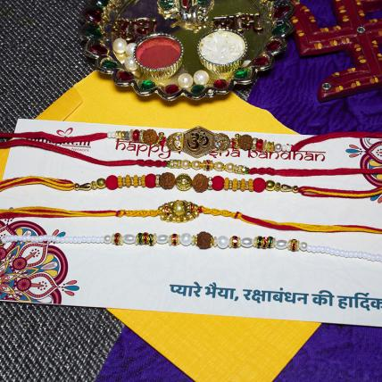 Supreme Rakhi Combo of 5