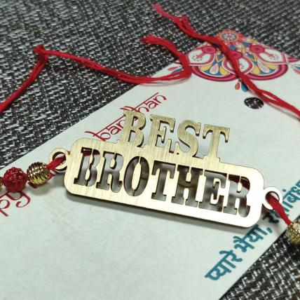 Best Brother Rakhi
