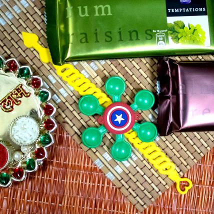 Kids Rakhi with Temptation Chocolates