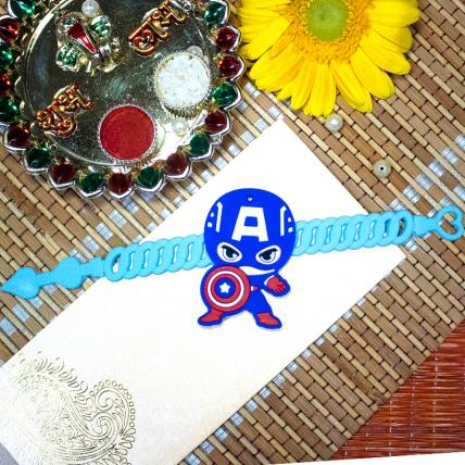 Captain America Kids Rakhi