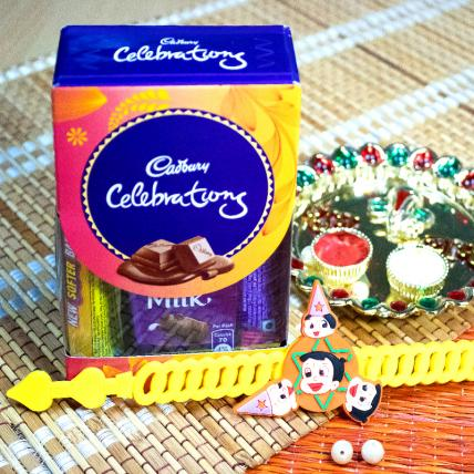 Kids Rakhi with Chocolates Pack