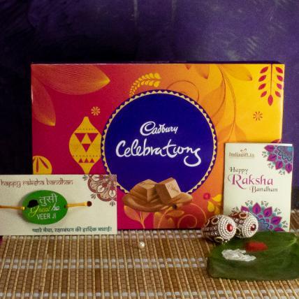Veerji Rakhi with Celebrations 150 Grams