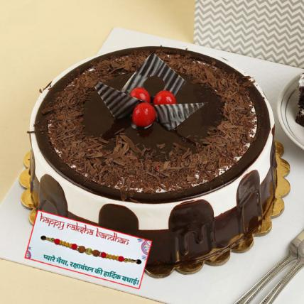 German Black Forest Cake with Rakhi