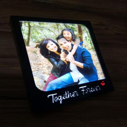 Together Forever LED Photo Frame