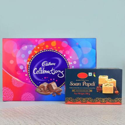 Soan Papdi N Cadbury Celebrations Pack